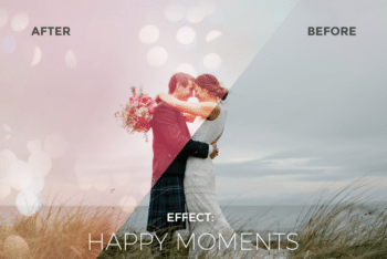 Photo Effects Mockup for Creating Stunning Bokeh Photo Effects