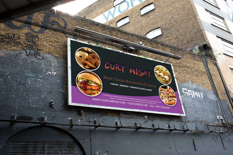 Billboard PSD Template Design