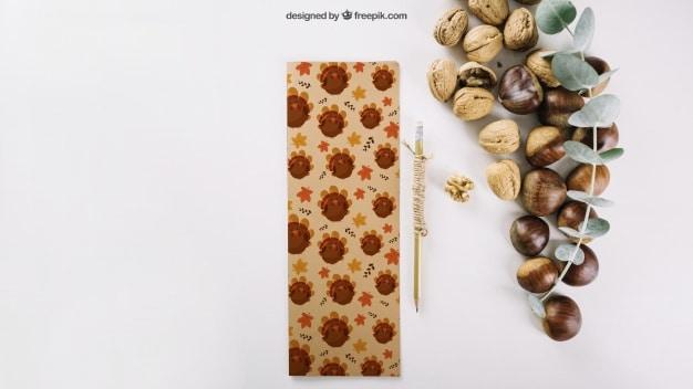 Autumn Nuts Scene