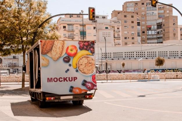 Rear Truck Billboard