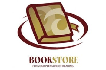 Free Bookstore Logo Design Mockup in PSD