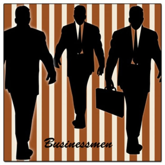 Businessman Silhouette Designs
