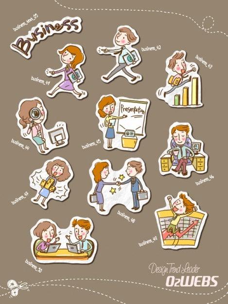 Cartoon Children Characters