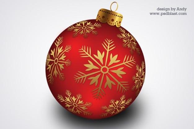 Artistic Christmas Ball