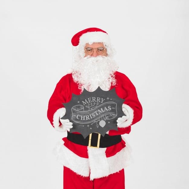 Christmas Sale Plus Santa Claus
