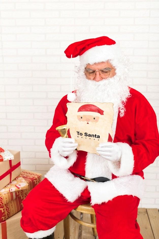 Santa Claus Plus Christmas Letter