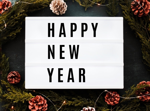 Simple Happy New Year Greeting