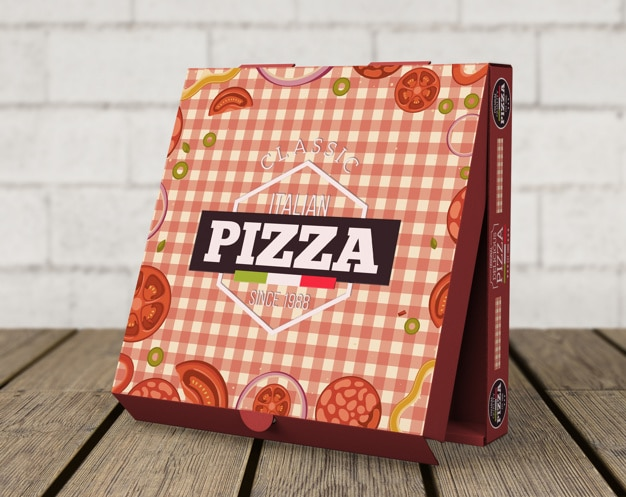 Creative Standing Pizza Box