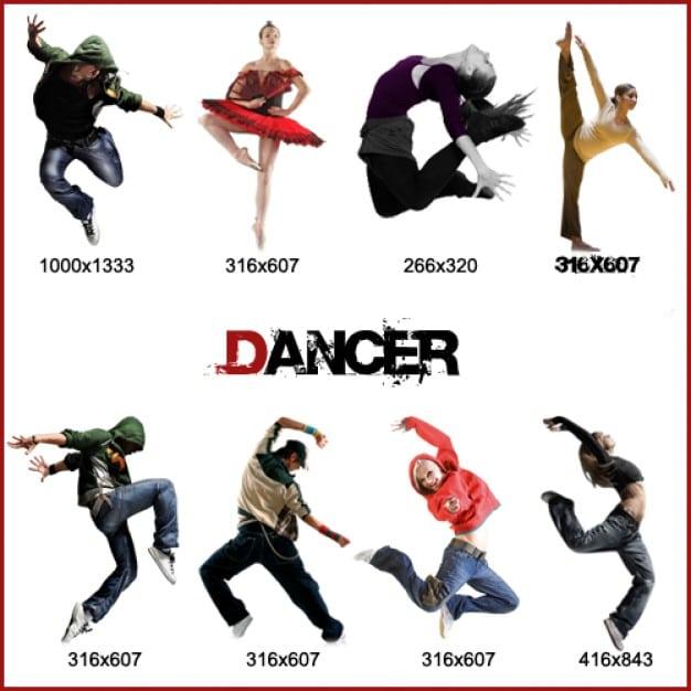 Dancer Models Pack