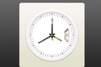 Free Elegant Watch Face Plus Gold Pointer Mockup