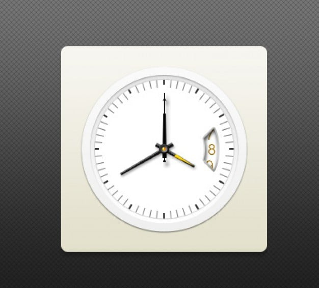 Elegant Watch Face Plus Gold Pointer