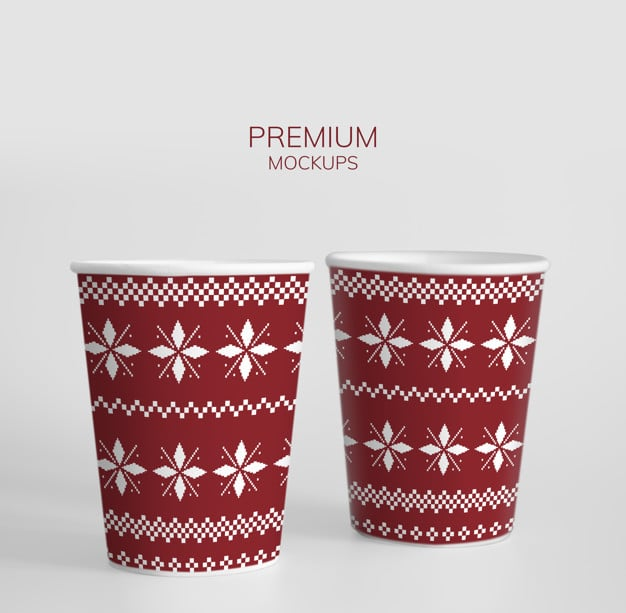 Christmas Party Paper Cup