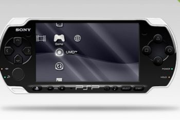 Free Layered PSP Handheld Console Mockup in PSD