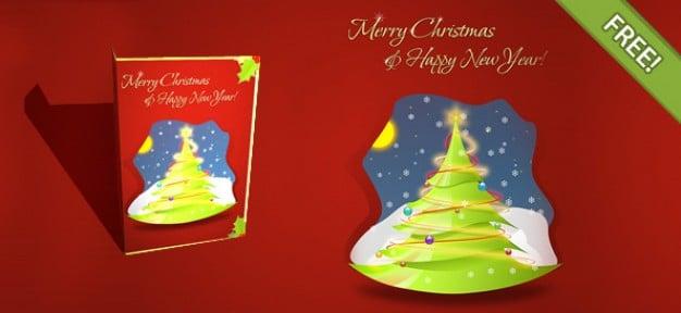 Layered Christmas Card