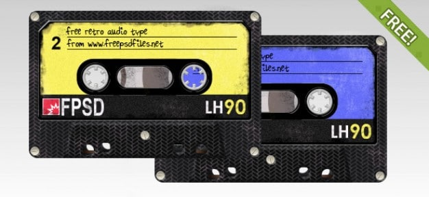 Weathered Cassette Tape