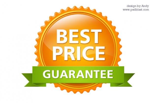 Glossy Business Guarantee Seal
