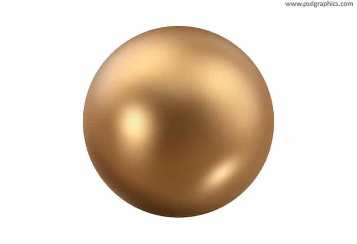 Gold Sphere Design