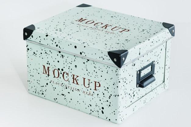 Stylish Retro Paper Box