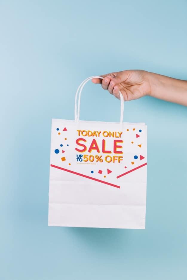 Shopping Bag Plus Sale Showcase
