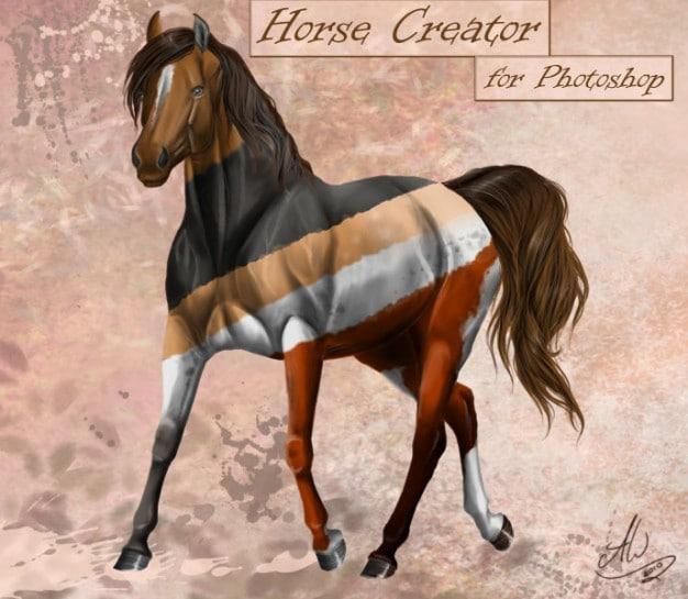 Modular Horse Art
