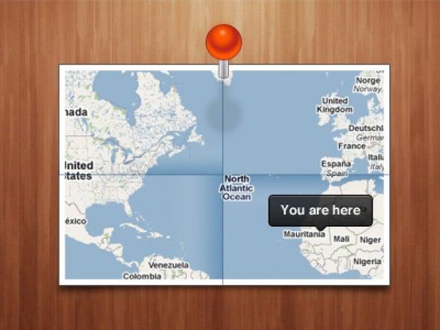 Location Map Design