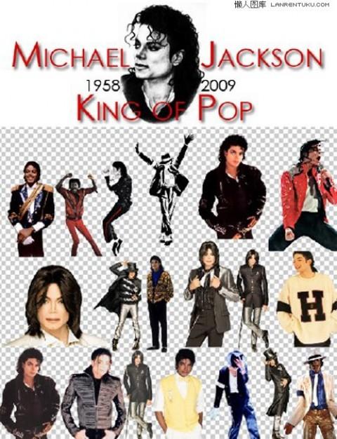 Michael Jackson Poses