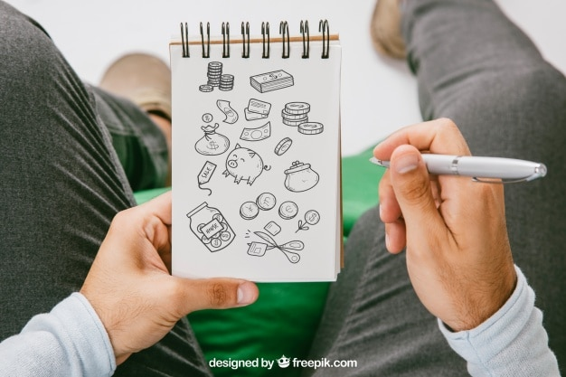 Savings Drawing Plan Plus Notebook