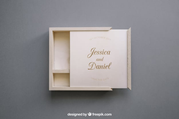 Wedding Gift Wood Box
