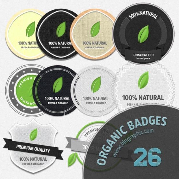 Organic Badge Design
