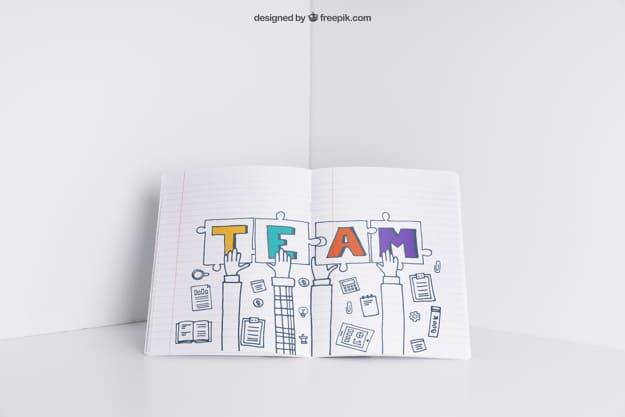 Inspirational Teamwork Art