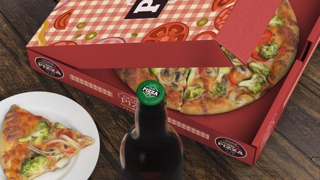 Pizza Plus Beer Scene
