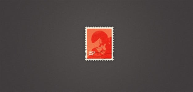 Stylish Little Postage Stamp
