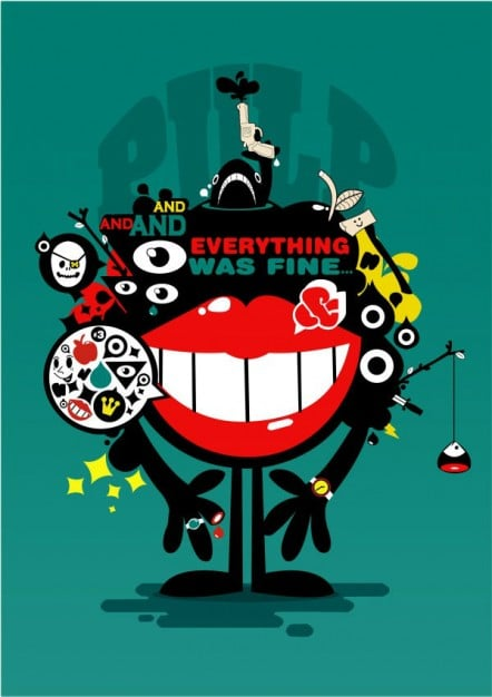free-retro-pop-poster-art-mockup-psd