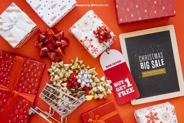 Happy Christmas Sale Scene