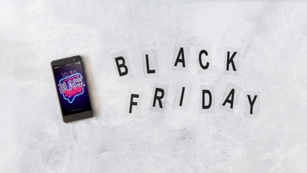 Smartphone Plus Black Friday Sign