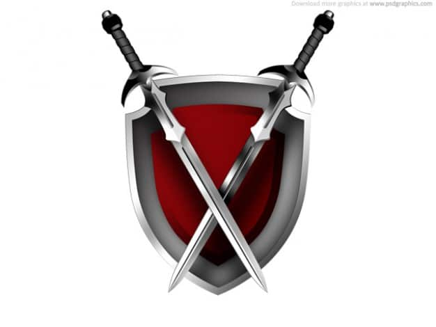 Fantasy Sword Plus Shield