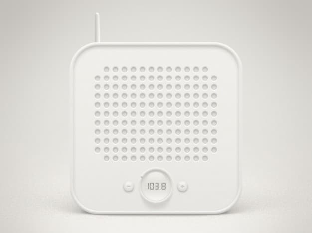 Minimalist Retro Radio