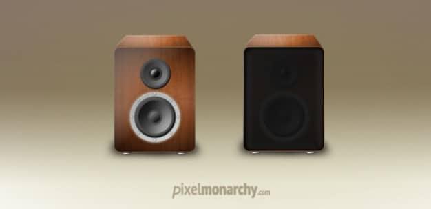 Vintage Wood Speaker