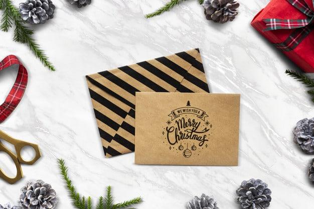 Christmas Letter Envelope