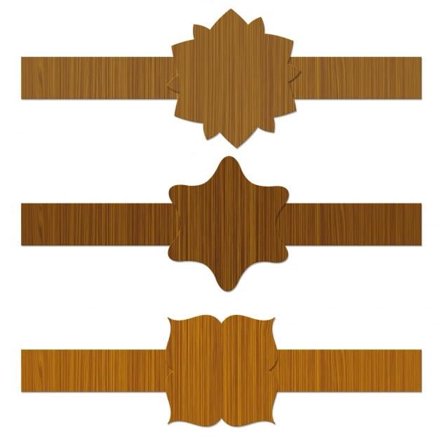 Classy Wood Labels