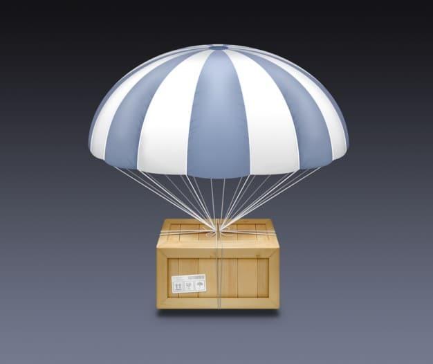 Wood Package Plus Parachute