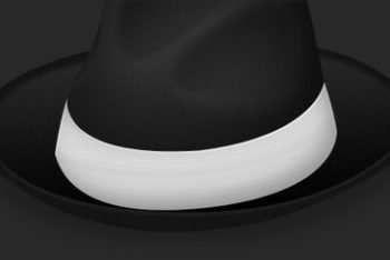 Free Traditional Bowler Hat Mockup in PSD