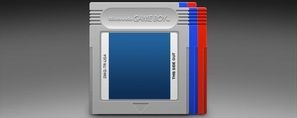 Colorful Game Boy Cartridges