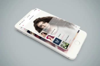 Download Free Isometric PSD Mockup for iPhone 6