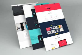 Show Your Client Your Web design with This Free PSD Mockup