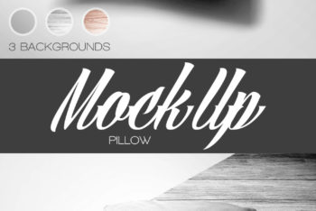 Create Awesome Pillow Design with This Free Pillow Mockup in PSD