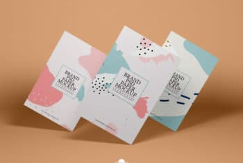 Beautiful & Creative Paper PSD Mockup