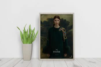 Design Beautiful Interior Framed Poster with This Free Mockup