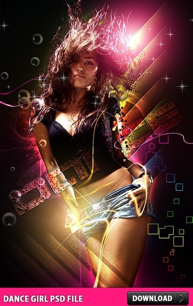 Dancing Party Girl