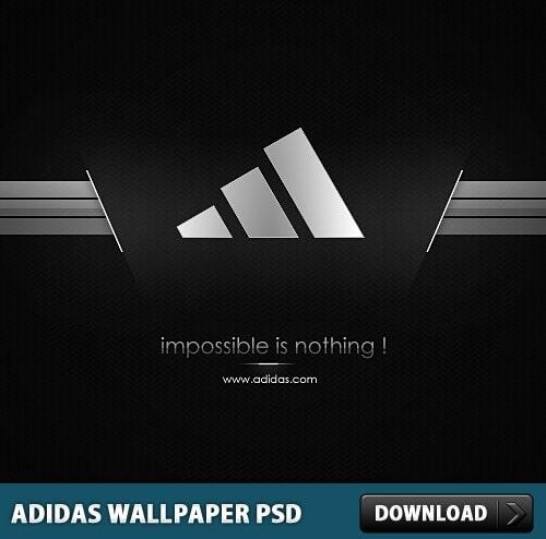 Adidas Motivational Logo
